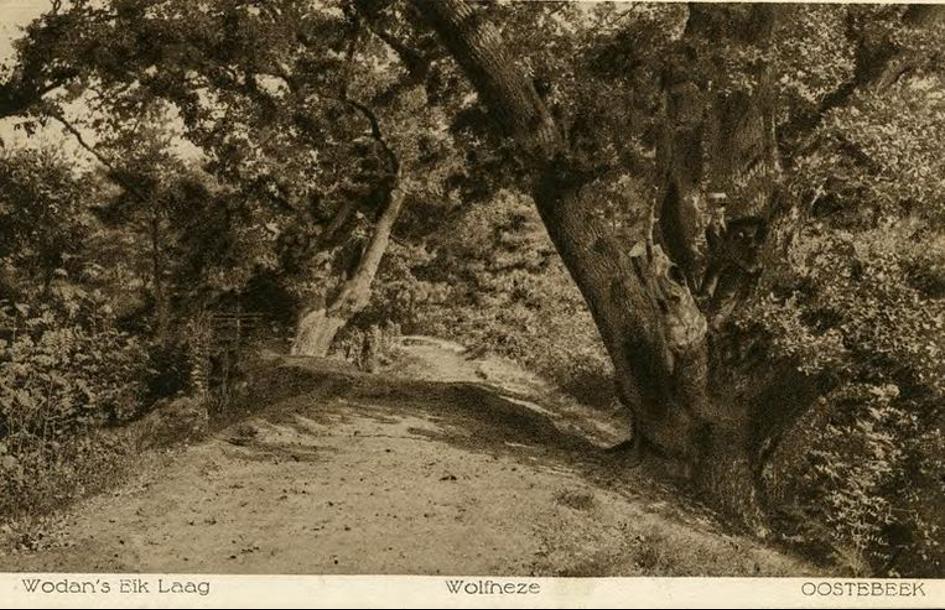 Wodanseiken bij Wolfheze ergens tussen 1920 en 1930.  Beeld